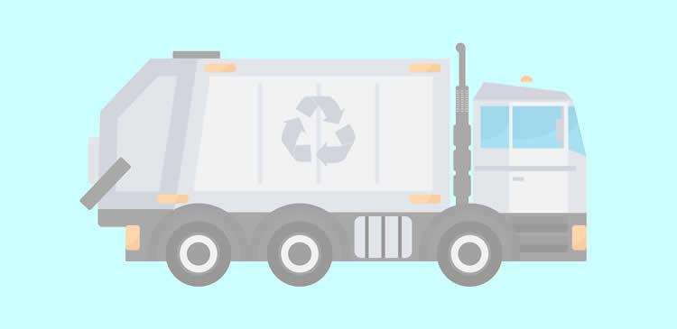 不用品は粗大ゴミ回収サービスを利用して廃棄する