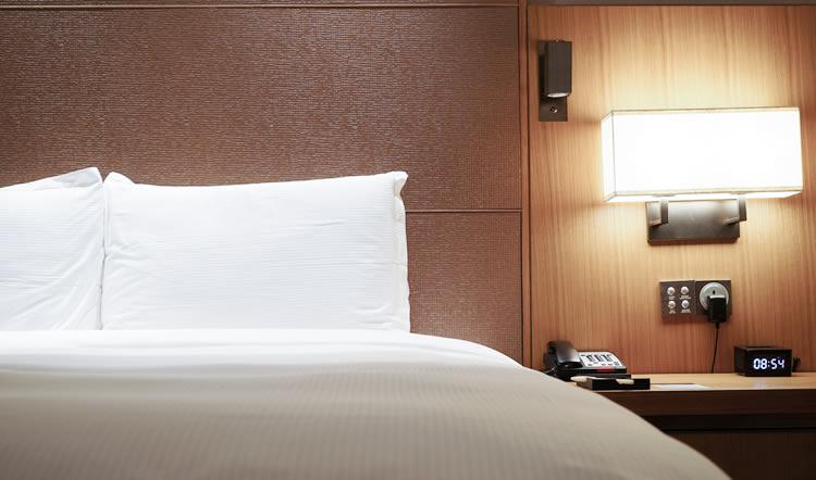 ホテルで宿泊