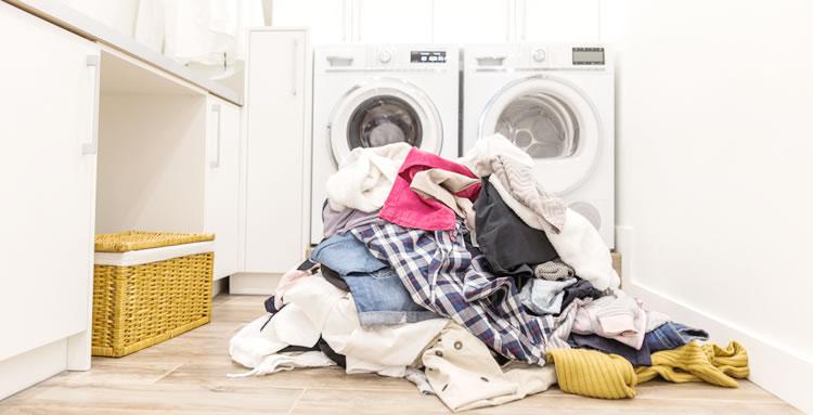 洗濯物の山が…【引越し体験談】