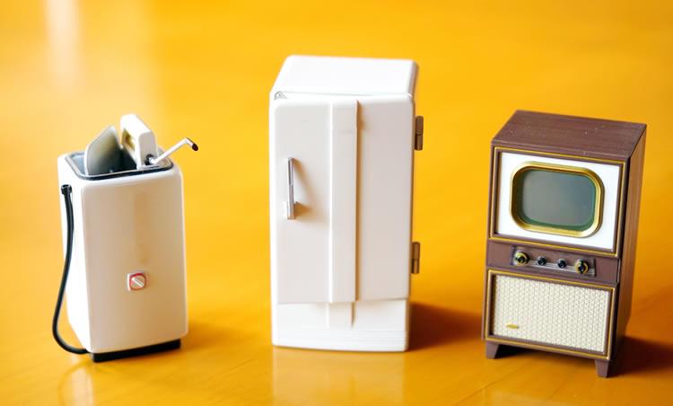 洗濯機と冷蔵庫