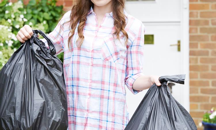 「引っ越しゴミ」、引っ越し当日には必ずゴミが出ます!