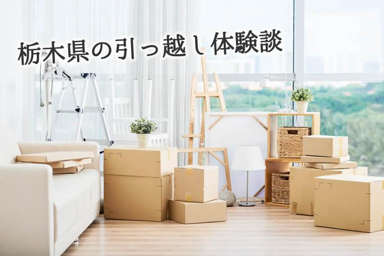 栃木県の引っ越し体験談!引っ越し業者はどこを使った?