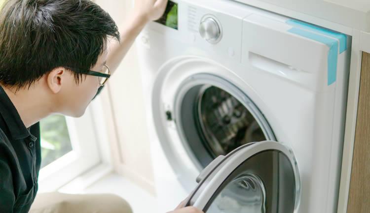 アーク引越センターでは洗濯機の設置をやっていませんでした。委託業者での設置作業となりました。